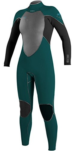 2017-oneill-ladies-psycho-freak-5-4mm-back-zip-wetsuit-deep-teal-black-4571-ladies-sizes-uk-6-us-4