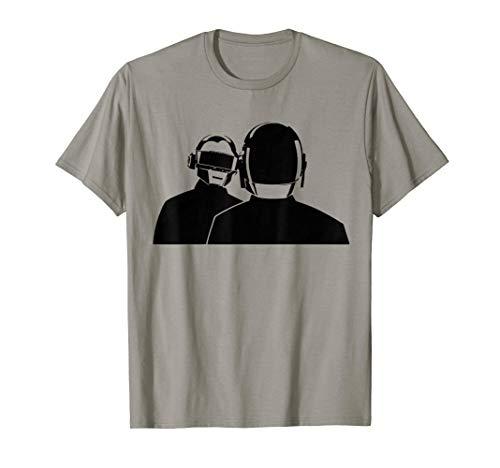 Daft Robot Heads T-shirt Punk Rock.