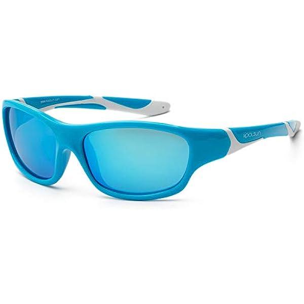 Koolsun Children Sport 3-6/Years Category 3 1 Aqua and White + ICE BLUE REVO Lenses 100/% Uv Protection | Optical |