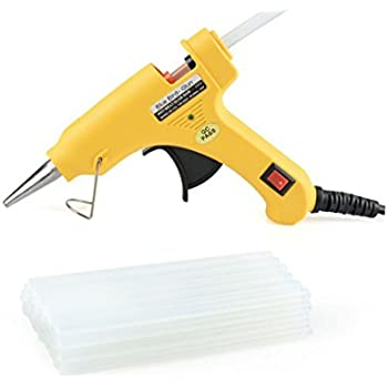 I-Will Blue Bird Mini Hot Melt Gun With 20 Glue Sticks For Craft & DIY Work- 7 mm