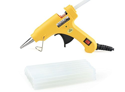 I-Will Blue Bird Mini Hot Melt Gun With 20 Glue Sticks For Craft & DIY Work- 7 mm