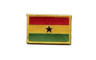 Aufnäher Patch Flagge Ghana - 8 x 6 cm