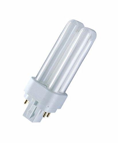Osram DULUX D/E 13W/830 G24q1 4 Pin (75W) FS1 131mm Kompakt-LLp Warmton dimmbar f.EVG - G24q 1 Leuchtmittel