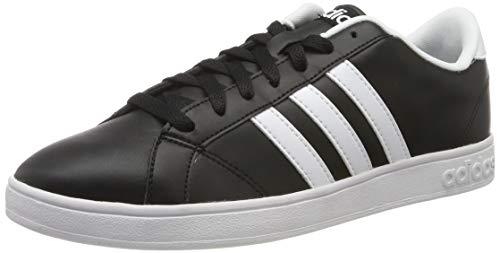 adidas Herren Baseline Turnschuhe, (Schwarz Ftwbla/Negbas), 44 - Adidas Schwarz Schuhe Neo