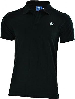 Adidas Adi polo pique hombres originales Trefoil Camisa polo Negro