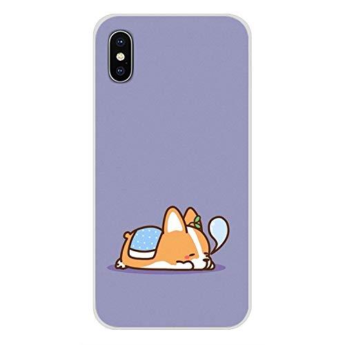 Super netten Corgi Sexy Cartoon-Hund Ass-Schwarz-Fall-Abdeckung für iPhone X Xr Xs Max 4 4S 5 5S 5C Ich 6 6S 7 8 Plus, für iPhone 7 Plus Bilder 11