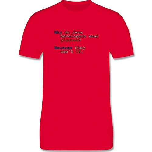 Programmierer - Java Developers - Herren Premium T-Shirt Rot