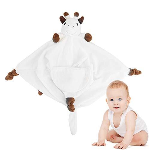 Säuglingsbaby-Rotwild-Form beschwichtigen Tuch-Rülpsen-Schellfisch-Plüsch spielt Bettwäsche-Geschenke