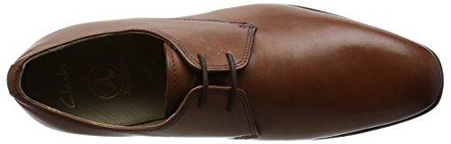 Clarks ClarksAmieson Walk - Scarpe Stringate Uomo Marrone (Tan Leather)