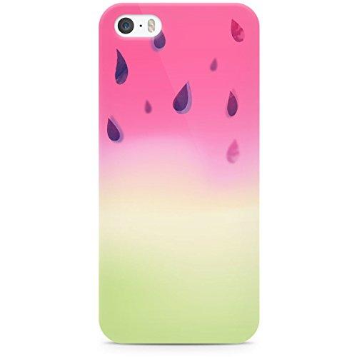 Pastèque Ombre Étui Coque rigide pour Apple iPhone 6Plus 5S 5C 54iPod et plus