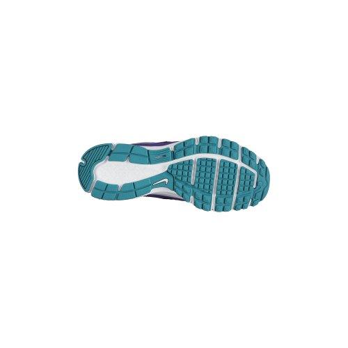 Nike , Mädchen Laufschuhe Morado (Court Purple / Turbo Green-Purple Venom)