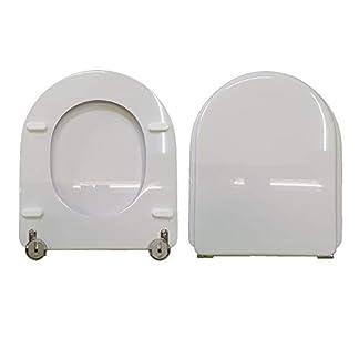 Asiento de inodoro Starck 3 Duravit compatible lacado blanco brillante poliéster