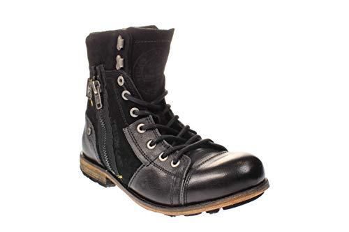 Yellow Cab 18069 INUSTRIAL M - Herren Schuhe Boots Freizeitschuhe - Black, Größe:42 EU