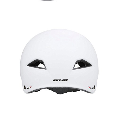 DGF Casque route montagne vélo équitation patin voiture route escalade alpinisme rafting casque de sauvetage (Couleur : Blanc-M)