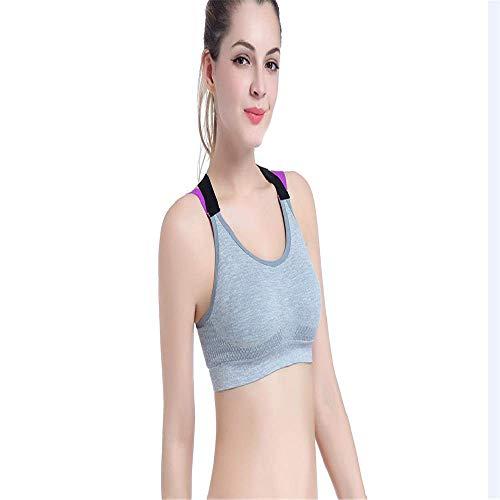 ess Sport-BH Sexy Sport-BH Top für Fitness Frauen Push Up Kreuzgurte Yoga Running Gym Femme Active Wear Gepolsterte Unterwäsche Crop Tops Weiblich ()