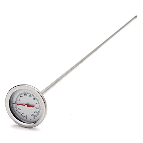 MYAMIA 0-120 50Cm Länge Premium Edelstahl Kompostboden Thermometer Boden Monitor