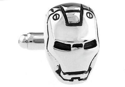 Manschettenknöpfe Iron Man Superhero Silber