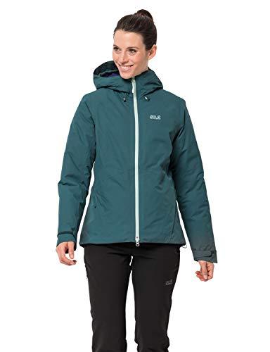 Jack Wolfskin Damen Argon Storm Jacket W Wetterschutzjacke, Dark Jade, XL