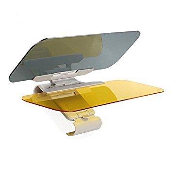 Extensor de Parasol Anti-Deslumbramiento,Coche Anti-Deslumbramiento Anti-Deslumbramiento - Gafas Sun Visor Extensor Protector Solar Shade Día o de la noche anti-deslumbramiento Autour