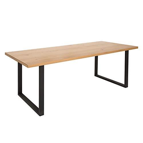 Riess Ambiente Design Esstisch Canadian WILD Oak 200cm Eiche Küchentisch Konferenztisch Tisch