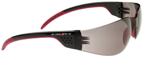 Swiss Eye Sportbrille Outbreak Luzzone black/red, One Size