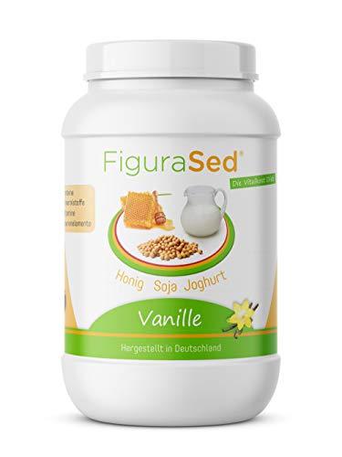 FiguraSed * Honig - Soja - Joghurt * Vanille - Mahlzeitenersatz Protein - Eiweiß Shake 500g - die...