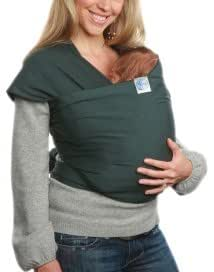 Moby Wrap Classic - Baby Sling, Elasticated Forest
