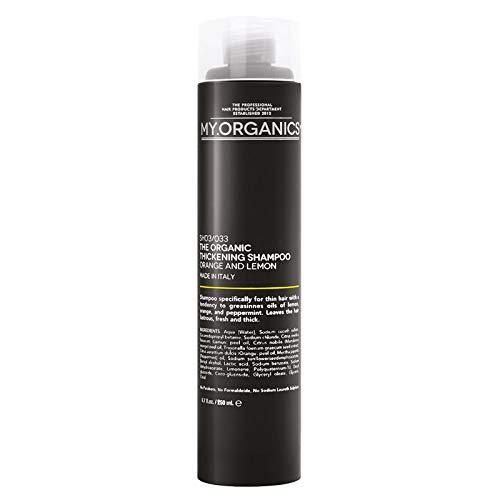 My.Organics My Thickening Shampoo 250 ml Volumen Shampoo speziell für feines Haar, das dazu neigt fettig zu werden -