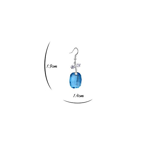 MT, Borsa a spalla donna Améthyste clair blu zaffiro