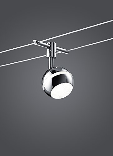 Seilsystem LED-Lampe BALOUBET 5 x 3,8 Watt Länge max. 5 Meter 778210506