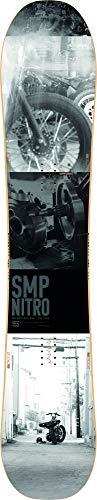 Nitro Snowboards Herren SMP '20 All Mountain Directional Twin Snowboard Freestyle Freeride Board, Mehrfarbig, 155 cm