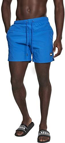Urban Classics Herren Block Swim Shorts Badehose cobalt blue XXL