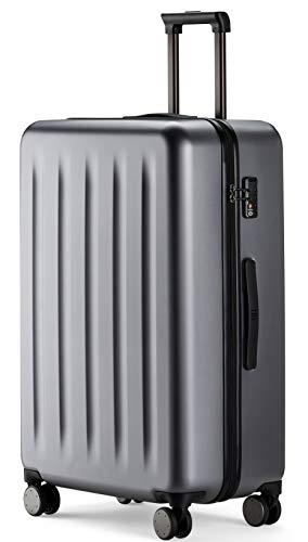90FUN großer Koffer und Sets I Leichter Hartschalen Trolley mit TSA-Zahlenschloss (Grau,...