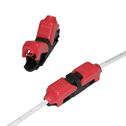 Connettori per giunzione rapida cavi, senza spelatura, compatibili con cavi 22–20AWG, per usi di precisione in auto, Alightings