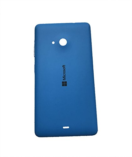 Nkgk Replacement Back Door Cover Panel for Microsoft Nokia Lumia 535 (Blue)