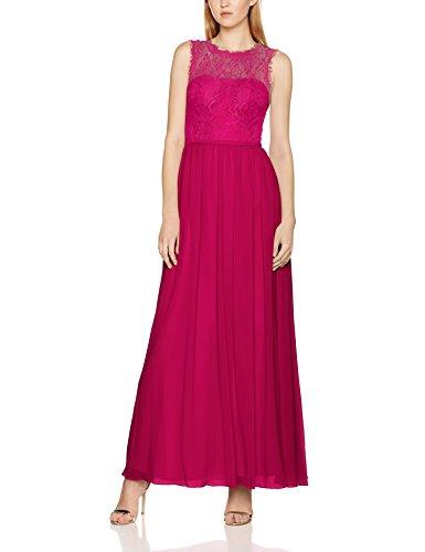 Laona Damen Partykleid LA81804L, Rot (Hot Pink), 36 (Herstellergröße: S)
