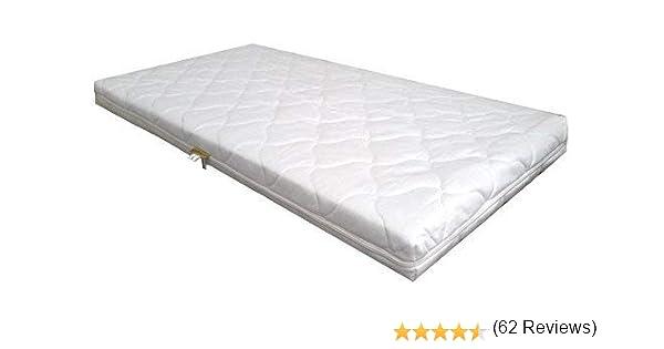 KiNDERWELT Matelas en mousse Comfort matelass/é pour lit enfant 140 x 70 x 7 cm Matelas B/éb/é matelas Matelas de noyau de mousse