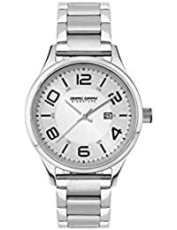 Jorg Gray Damen-Armbanduhr XS Analog Quarz Edelstahl JGS2571B