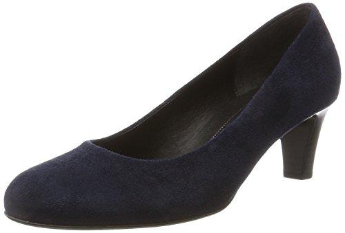 Gabor Shoes Damen Basic Pumps, Blau (36 River), 37 EU
