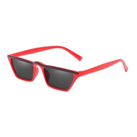 TYJYTM Retro cat Eye Sonnenbrille Damen Designer Spiegel Sonnenbrille für Damen Vintage Small Black Ladies Sunglass Eyewear