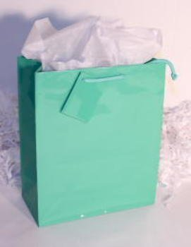 DDI 1272799 Mint Green Gift-Tote Bag -