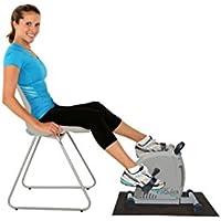 Preisvergleich für NEU - FitQuick - Premium-Qualität - Mini-Heimtrainer - Leiser, sanfter Magnetwiderstand - Rehabilitationstraining für Beine und Arme - Ein tragbarer, einfacher Heimtrainer, der am Sofa oder Stuhl im Sitzen verwendet wird. Baut Muskeln in den Beinen und Ar
