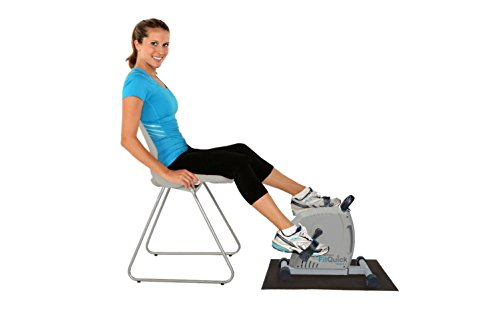 Nuovo - fitquick - ottima qualità - mini cyclette - resistenza magnetica silenziosa a basso impatto - riabilitazione per gambe e braccia - ideale da usare seduti su divani o sedie. costruisce i muscoli di gambe e braccia, rinforza le articolazioni e promuove la circolazione - pedalata bidirezionale per esercitare più muscoli - consigliata dai fisioterapisti. la resistenza magnetica esercita meno stress sulle articolazioni ed è sufficiente per esercitare il cuore e il sistema cardiovascolare.