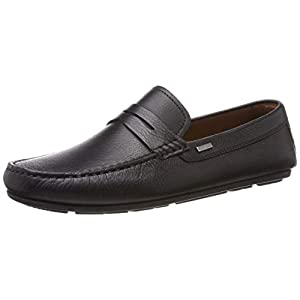 Tommy Hilfiger Herren Classic Leather Penny Loafer Slipper