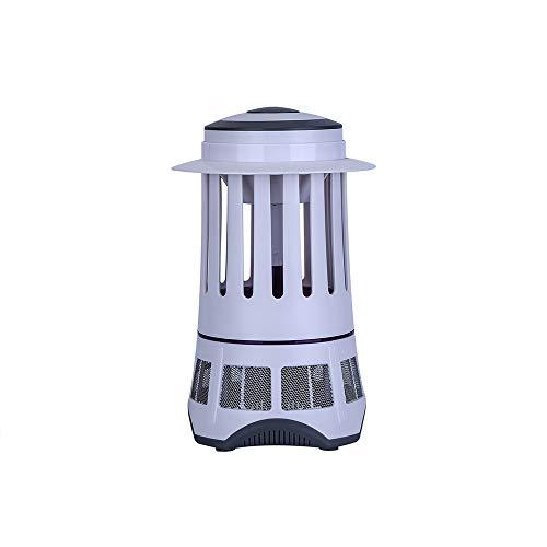 OYDA LED Electronic Mosquito Killer, Inhalación Photocatalyst Repelente de Mosquitos hogar al Aire Libre Interior Dormitorio Camping Mosquito Lámpara, Material, Blanco, Size 0.00watts