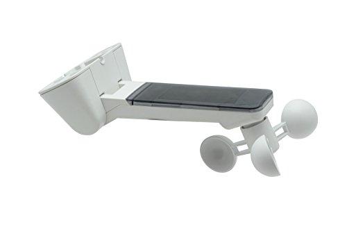 Emisor con sensor de sol y viento para toldos, incluye batería, color blanco 1St