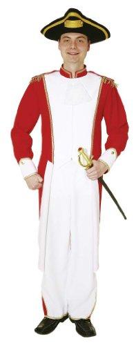 Theater Soldat Kostüm Erwachsenen Für - Gardemajor Soldat Kostüm Gr. 54