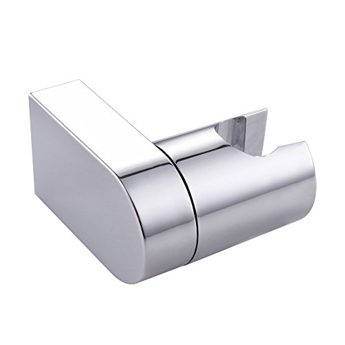 KES Einstellbare Hand Handheld Duschkopf Brausehalter Halterung Wandhalterung für Bad Modern Square Stil, Poliert, C203 (Handheld-duschkopf Antik)