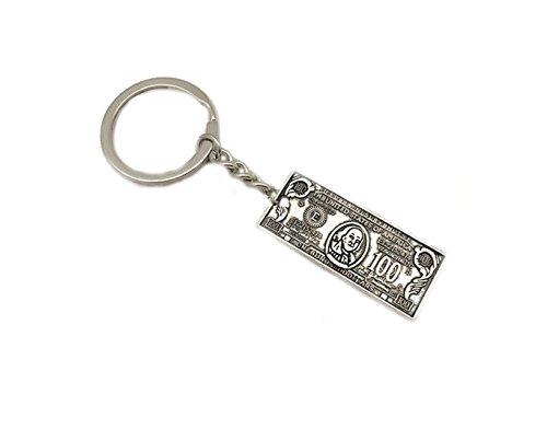 100 US Dollar Schlüsselanhänger silber (Schlüsselanhänger Für Einen Dollar)