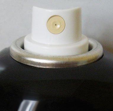 montana-gold: 400ml Acrylic Spray Paint Can–Mystic Schwarz
